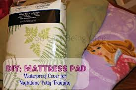 diy waterproof mattress pad cover made with flannel sheets a vinyl tablecloth and and