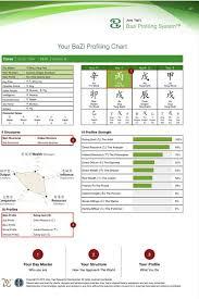 Bazi Profile Strength Chart Pin By Ashaelana On Energy And Vibrations Chart Map