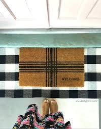 beautiful buffalo check rug and looooove this buffalo check rug its the perfect indoor outdoor rug