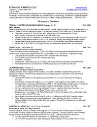 Safety Officer Resume Free Resume Example And Writing Download