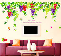 Small Picture 219 Wall Stickers Living Room Grapevine Design with Quote Extra