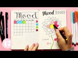 How To Create A Mood Tracker In Your Bullet Journal Plan