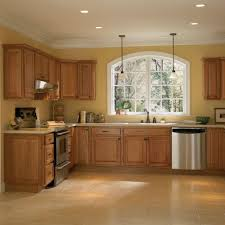 Kitchens With Wood Cabinets Simple Lowes Kitchen Cabinets With Wooden Material Kitchen