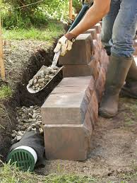 how to build a retaining wall better homes and gardens