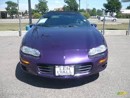 1998 Bright Purple Metallic Chevrolet Camaro Z28 Convertible ...