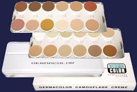 Kryolan Professional Make Up Dc Camouflage Cream Palettes