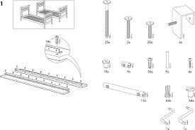Ikea Bunk Bed Instructions Hemnes