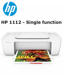 hp deskjet 1112 single function color printer 1000 pages print yield connect via