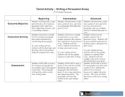 8th Grade Essay Examples Persuasive Essay Format 8th Grade Coursework Sample