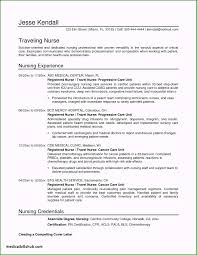 Unusual Nursing Resume Examples With Clinical Experience For