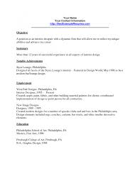 Interior Design Assistant Sample Resume Interior Design Assistant Sample Resume Shalomhouseus 7