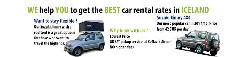Compare Car Rentals Iceland 1 Rental Service