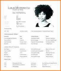 Acting Resume Template Cool Aspiring Actor Resume Sample Inspirational Actor Resume Template