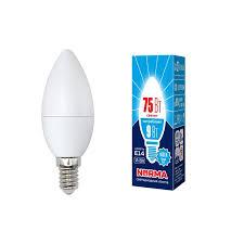 <b>Лампа</b> светодиодная (UL-00003803) <b>E14 9W</b> 4000K матовая <b>LED</b> ...