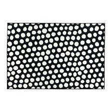 black and white ikea rug polka dot from orange nursery rugs for less black and white ikea rug