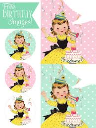 Surprise Images Free Happy Birthday Pictures Vintage Girl Surprise Free Pretty Things