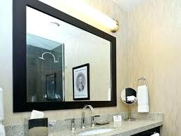 wood framed bathroom mirrors. Wooden Frame Bathroom Mirror Gray Framed Wood Inside Decorations Design Tiles Mirrors F