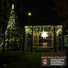 Led Weihnachtsbaum 8 M Hoch Als Lichterkette Am