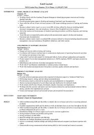 Product Analyst Resume Sample Product Support Analyst Resume Samples Velvet Jobs 21