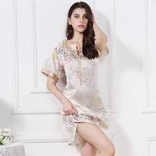 Image result for women's silk nightgowns