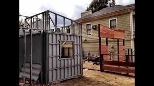 der biergarten cargo container beer garden in sacramento ca