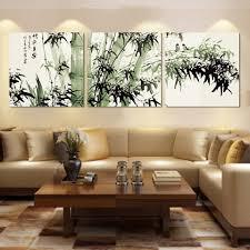 large bamboo wall art decor ideas