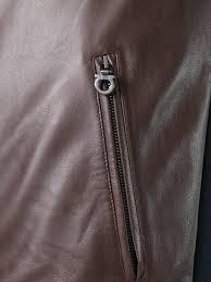 salvatore ferragamo leather front er jacket men clothing ferragamo sofia 100 genuine