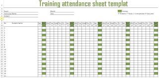 Training Record Sheet Template Benefits Training Attendance Spreadsheet Template Sheet Free