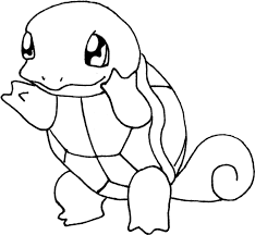 Small Picture Pokemon coloring page 007 squirtle coloring pages