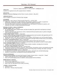 Resume Objective Examples Nursing Student Resume Ixiplay Free