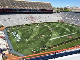 Jordan Hare Stadium Section 100 Row 5 Seat 7 Auburn