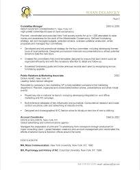 Non Profit Resume Samples Best Of Event Planner Non Profit Resume Samples Sample Resume