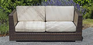 over time water bacteria and dirt aculate and the absorptive nature of foam allows for mold to colonize rendering the cushion totally unsanitary