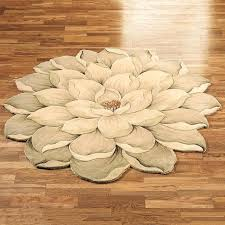 enchanting shaped bathroom rugs bath rug rugs melanie magnolia round flower unique shaped tivoli beautiful modern runner to expand posh luxury s x jpg