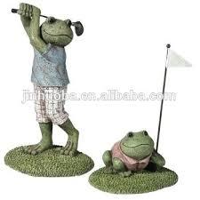 golf garden statues
