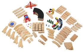 melissa doug wooden railway set3