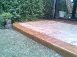 stamped concrete patio cost uk