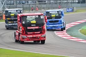 press photo caption wabco equips tata motors prima race truck