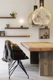 lamps living room lighting ideas dunkleblaues. Rustic Dining Table With Simple Yet Stunning Shelving And Of Course The  Octo Pendants From Secto Lamps Living Room Lighting Ideas Dunkleblaues B
