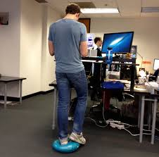 stand up desk exercise