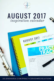 August Theme Calendar August Inspiration Calendar Free Download Jolene Madewell