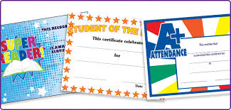 achievement awards for elementary students certificates for elementary andersons