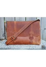urban distressed leather messenger bag limited brown