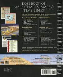 Rose Book Of Bible Charts Maps And Timelines Rose Book Of Bible Charts Maps Time Lines 10th Anniversary Edition