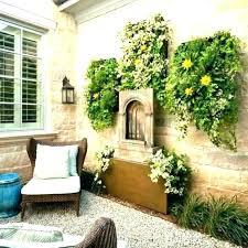 patio wall decor ideas garden decoration uk