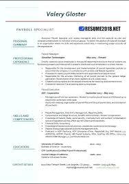 Payroll Manager Resume Sample Payroll Administrator Resume 3 L Senior Payroll Administrator