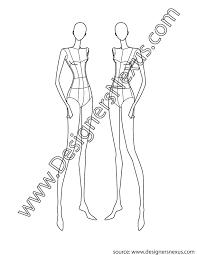 design female croqui v3 front 3 4 pose