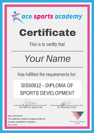 sis diploma of sport development picture