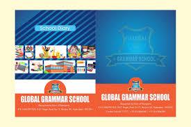 School Diary Design School Diary Harshini Creative Graphics