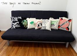 cool couch pillows. Plain Couch The Reusable Bag Trend Is A Bit Out Of Control They Are Pretty Much The  New Tshirt As Far Things To Put Your Graphics On Intended Cool Couch Pillows N